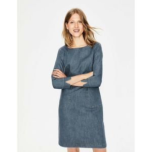 Boden Amber Mid Vintage Blue Retro Denim Dress